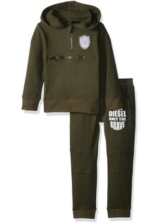 Diesel Toddler Boys' Fleece Jog Set