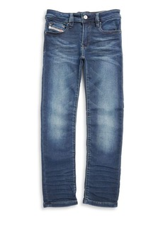 Diesel Toddler's, Little Boy's & Boy's Cotton-Blend Five-Pocket Jeans