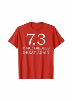 Diesel Truck T-Shirt - Make Diesels Great Again Pickup Shirt