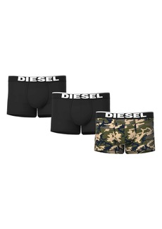 DIESEL® UMBX-Damien Assorted 3-Pack Boxer Briefs