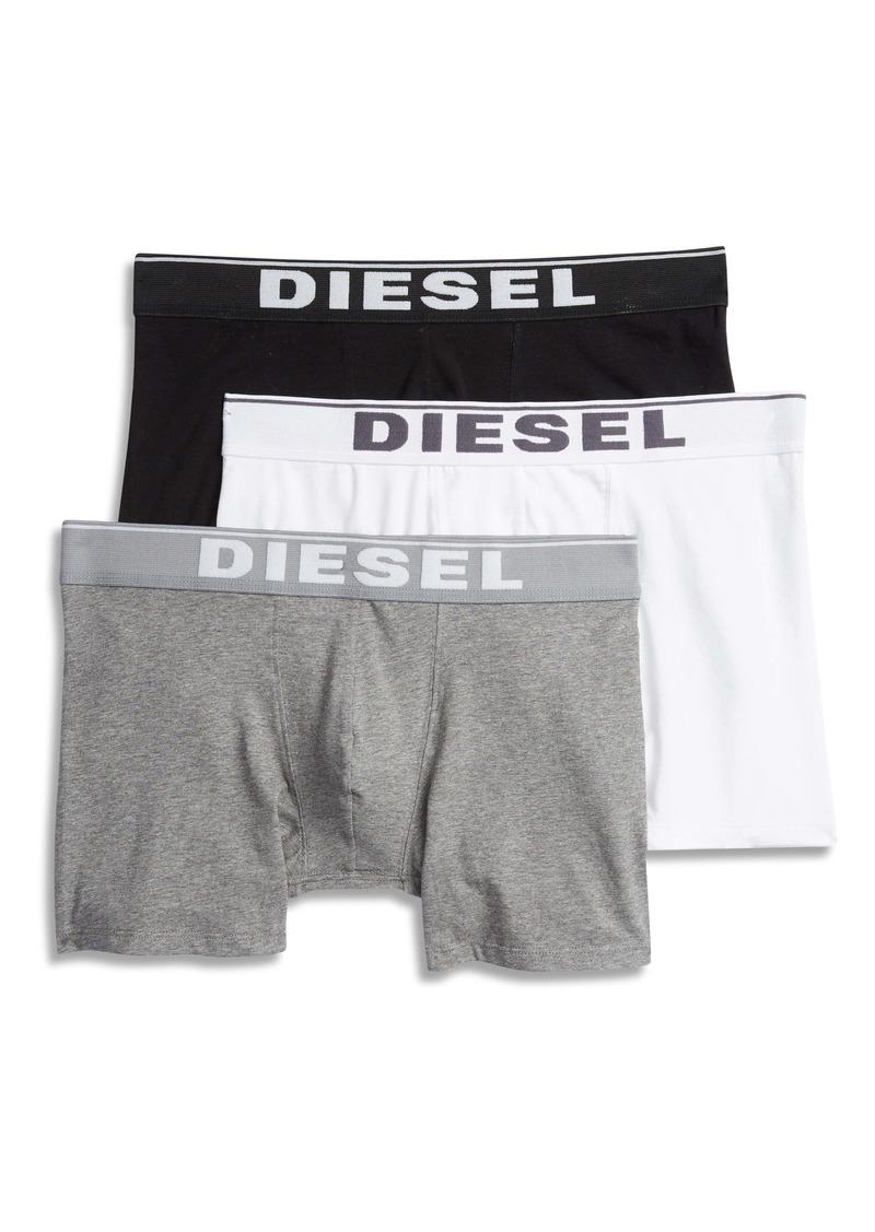 DIESEL® UMBX Sebastian 3-Pack Stretch Cotton Boxer Briefs