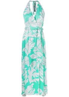 Diesel v-neck wrap dress - Green