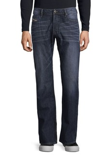 Diesel Washed Cotton Jeans