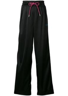 Diesel wide-leg track pants - Black