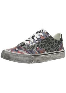 Diesel Women's 355 S-Flip Low W Sneaker Multicolor Gray-Black