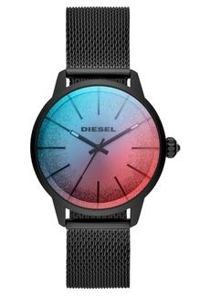 Diesel Women's Castilla Black Stainless Steel Mesh Bracelet Watch 38mm