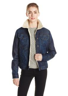 Diesel Women's De-Jaque-Fur Denim Jacket