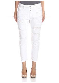 Diesel Women's Eazee Cropped Jeans