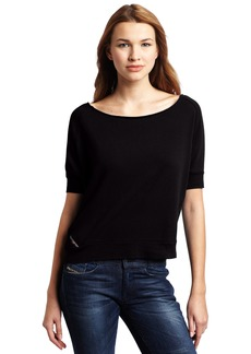 Diesel Women's Famps Scoop Neck Top