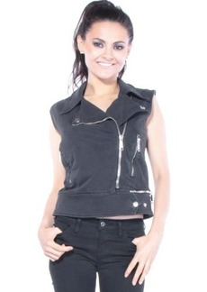 Diesel Women's G-Anta Vest, Black, X-Small