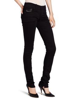 Diesel Women's Grupee Super Skinny Leg Jean 0800R Black 32x32