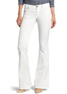Diesel Women's Livier-Flare Pant Off- Off-White