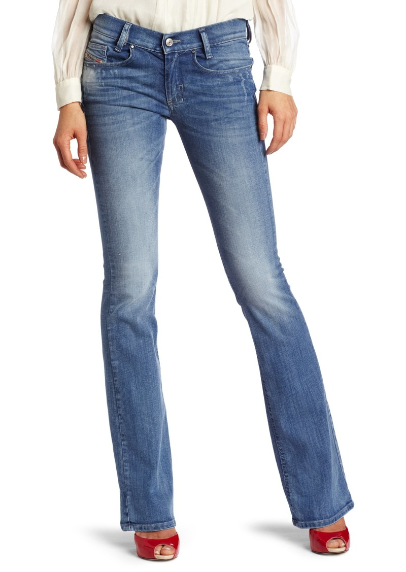 Diesel Women's Louvboot Slim Flare Jean