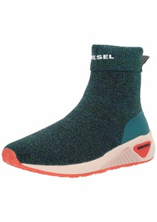 Diesel Women's SKB S-KBY Sock W-Sneaker mid deep Lake