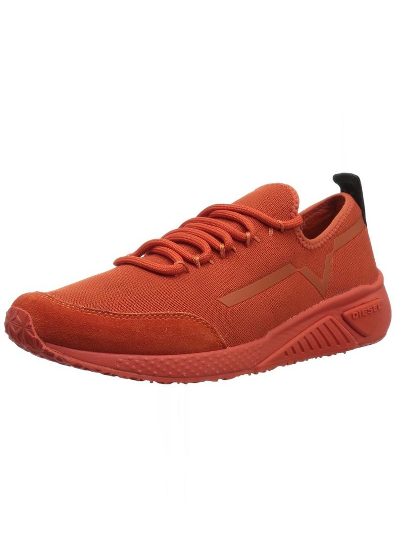 Diesel Women's SKB S-KBY Stripe W-Sneakers PUREED Pumpkin  M US