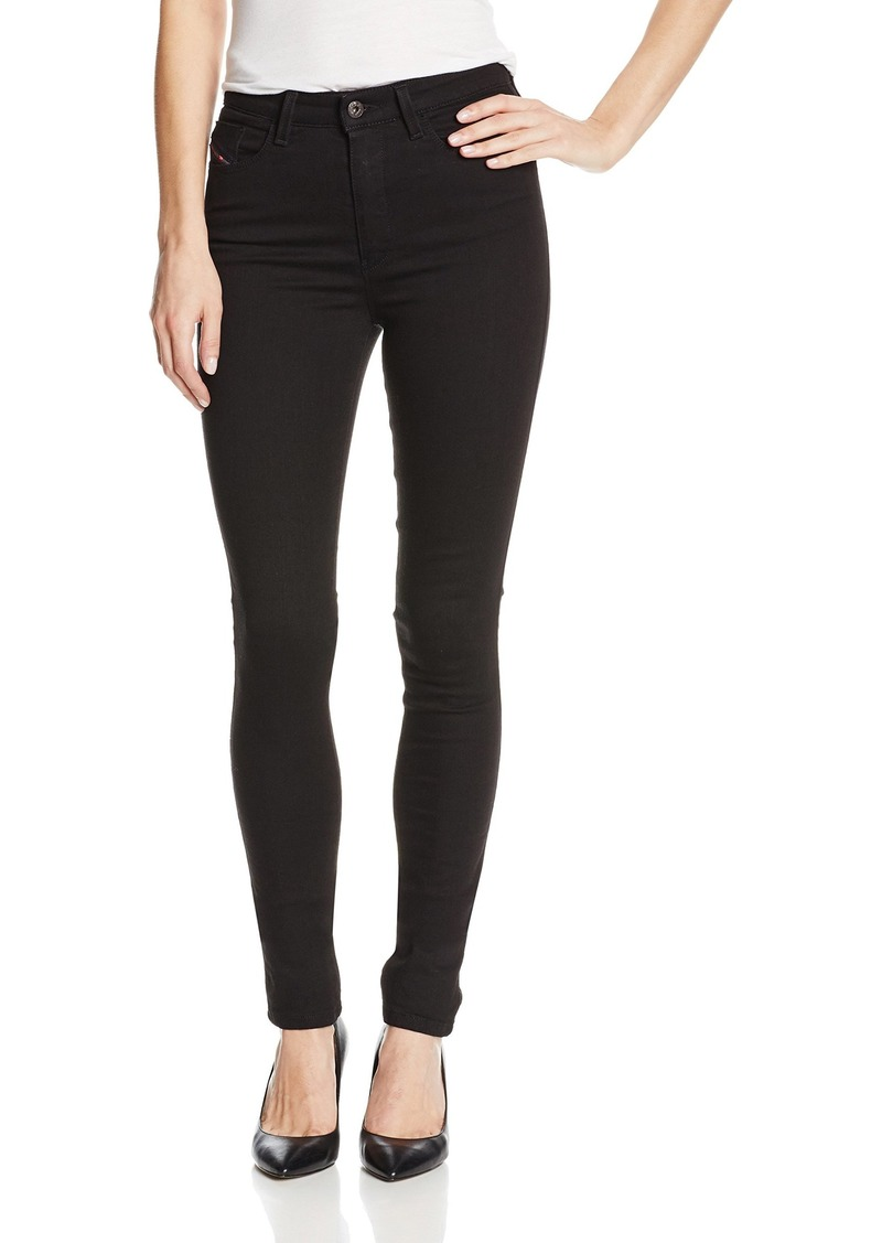 Diesel Women's Skinzee High Waisted Super Skinny Leg Jean 0813E  29x32