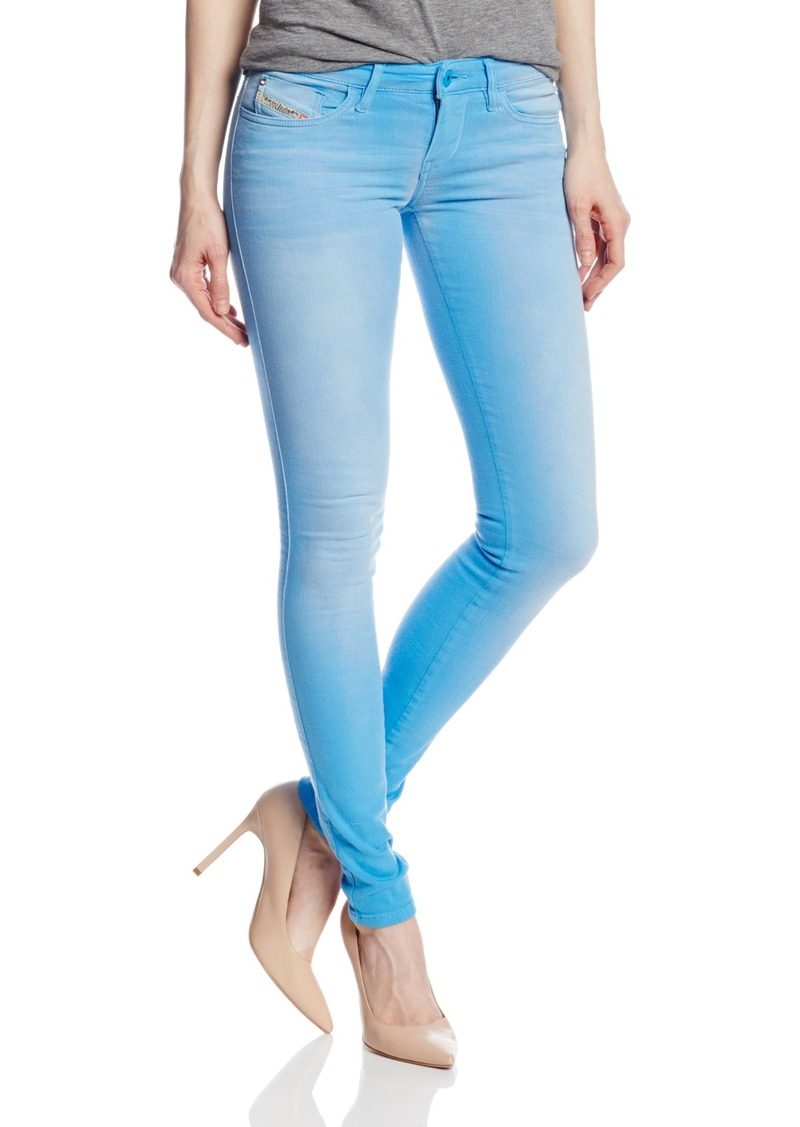 Diesel Women's Skinzee Low Rise Super Skinny Leg Jean 08T  x32x32