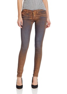 Diesel Women's Skinzee Low Super Skinny Leg Jean 0822E Blue
