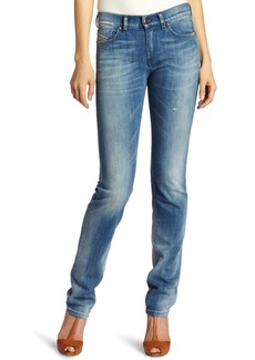 Diesel Women's Straitzee Regular Slim Straight Leg Jean 0801L