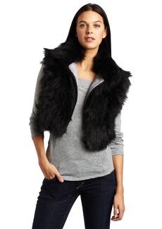 Diesel Women's W-Dat Cropped Sleeveless Vest