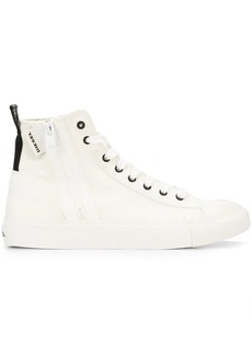 Diesel zipped high-top sneakers