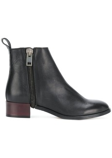 Diesel zip ankle boots - Black