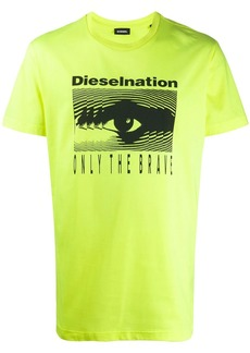 Dieselnation print T-shirt