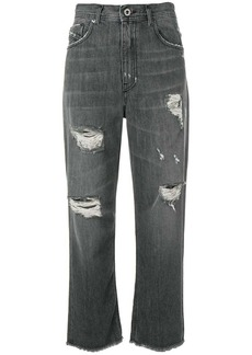 Diesel distressed boyfriend jeans