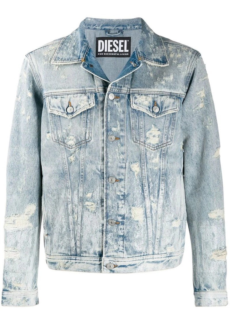 Diesel distressed denim jacket