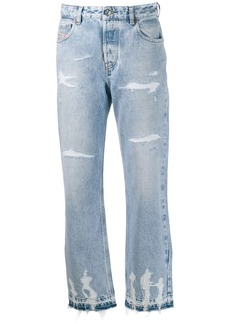 Diesel distressed denim jeans
