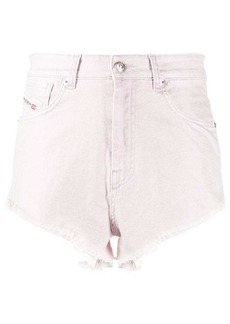 Diesel distressed short shorts