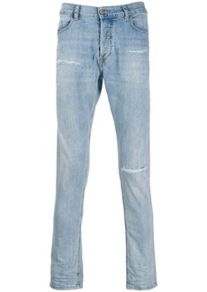 Diesel distressed slim-fit denim jeans