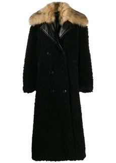 Diesel double breasted midi coat