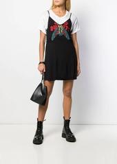 Diesel double-layer slip dress