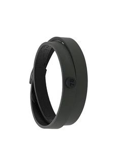 Diesel double-wrap bracelet