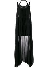 Diesel draped-panel mini dress