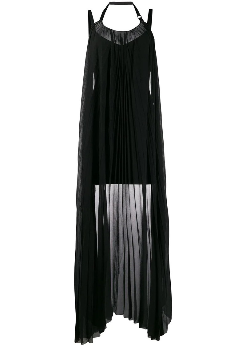 Diesel draped-panel mini dress