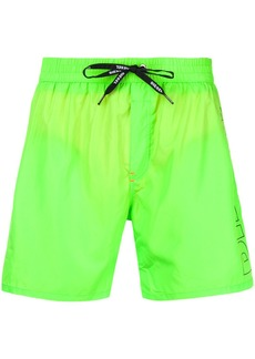Diesel drawstring waist beach shorts