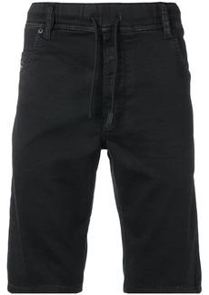 Diesel drawstring waist denim shorts