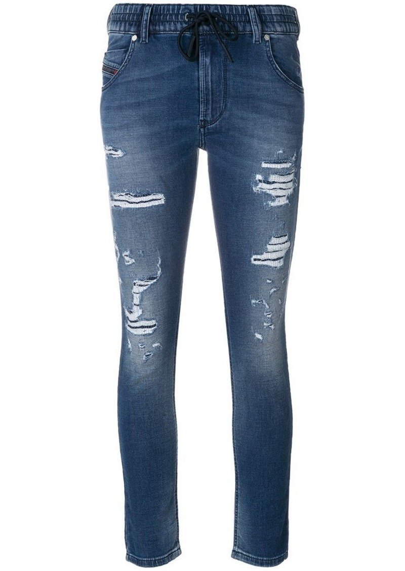 Diesel drawstring waist jeans
