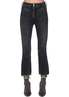 Diesel Earlie High Rise Cropped Denim Jeans