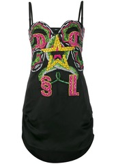 Diesel embellished mini dress