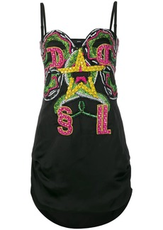Diesel embellished mini dress