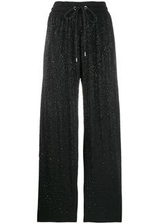 Diesel embellished track trousers