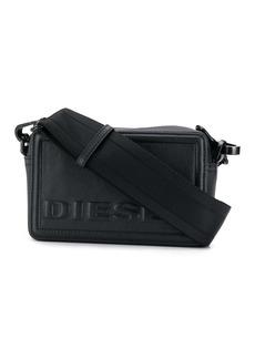 Diesel embossed logo crossbody bag