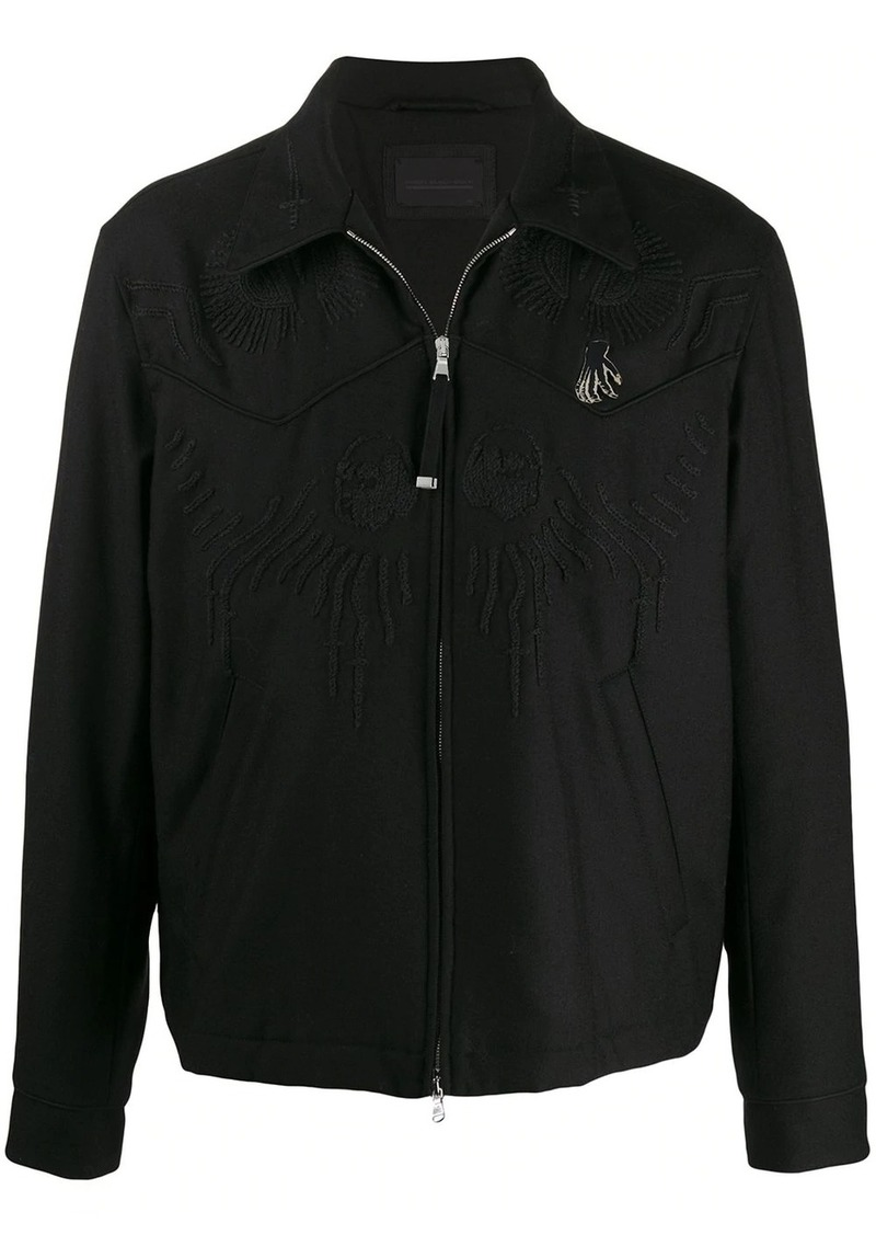 Diesel embroidered light jacket