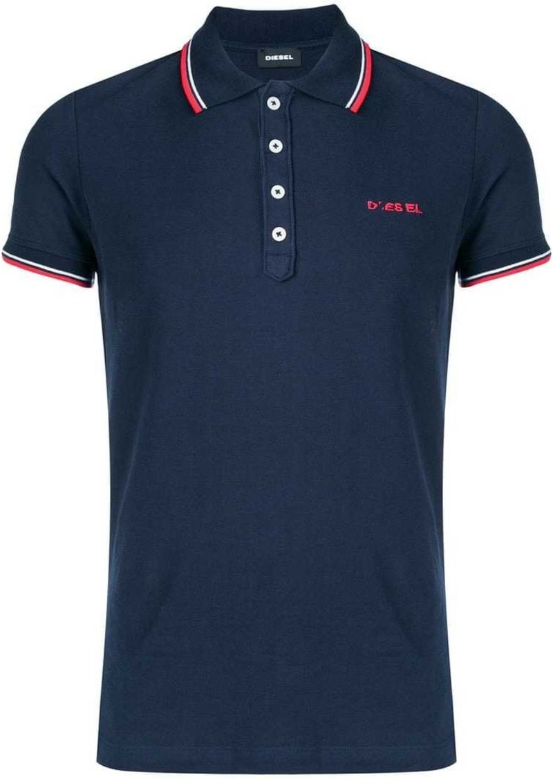 87ae5955 Diesel embroidered logo polo shirt | Casual Shirts