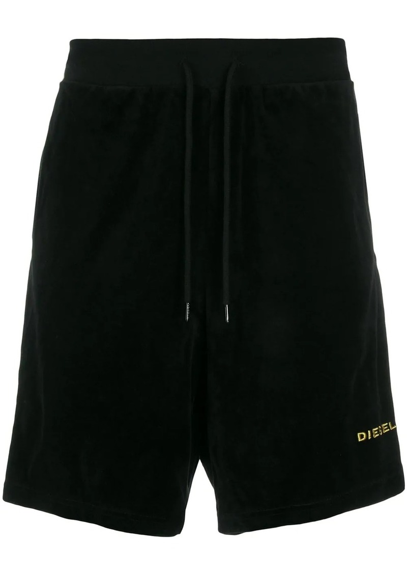 Diesel embroidered logo shorts