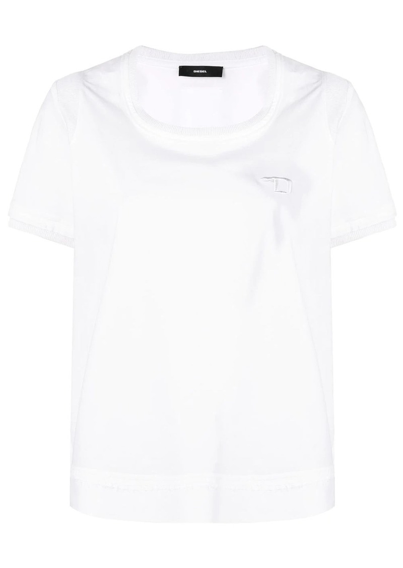 Diesel embroidered logo T-shirt