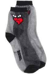 Diesel emoji jacquard socks